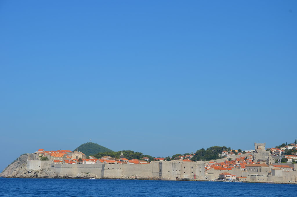To show Dubrovnik from the water