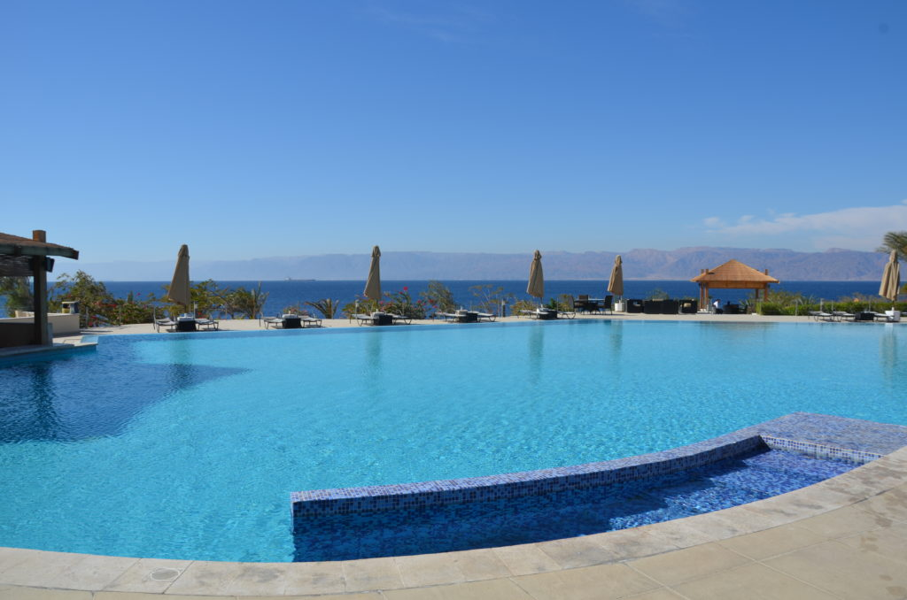 To show how the resort looked at the Red Sea in Aqaba.