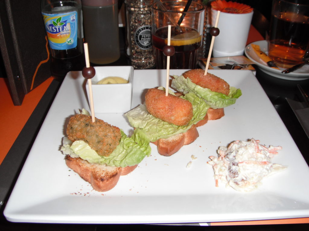 To show what we ate for lunch @meneer frits
