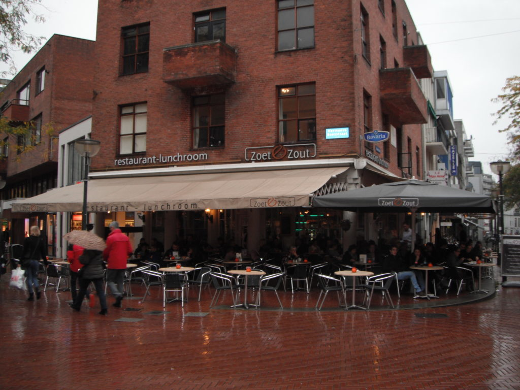 To show the outside of Zoet & Zout. Eat in Eindhoven