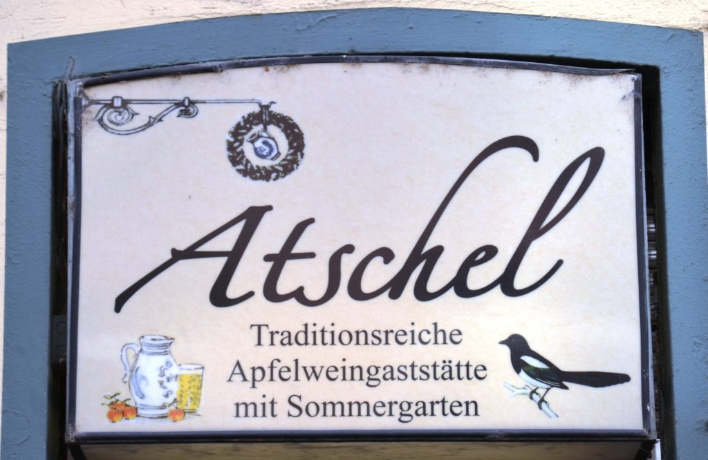 The traditional sign of Atschel