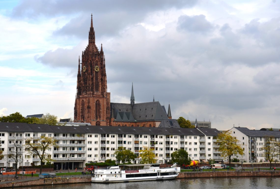 Cathedral of Frankfurt am Main, the biggest church