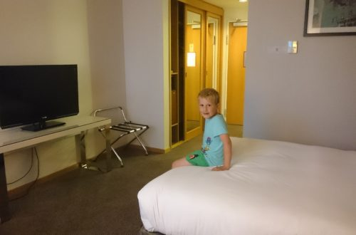 To show the rest of our room at the Hilton. Stopover hotels South