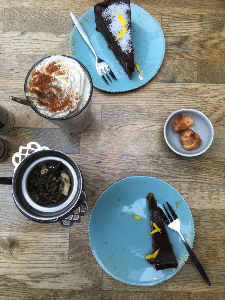 To show what we had at De wereld van Jansje. Eat in Haarlem