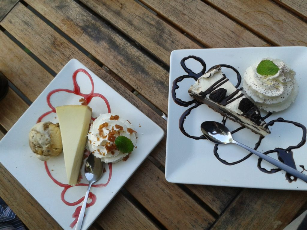 To show the cheesecake from Broadway. Eat in Utrecht