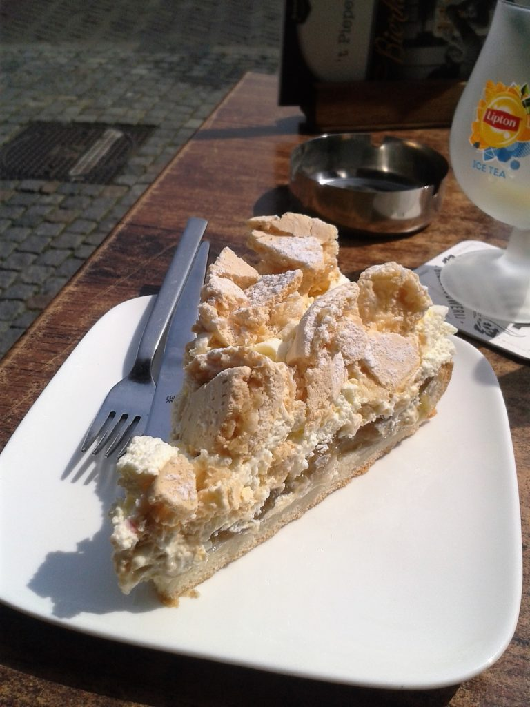 To show the famous Gooseberry cake