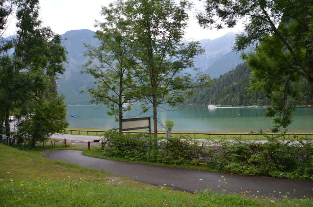 To show Our view at the campsite. Week in Austria
