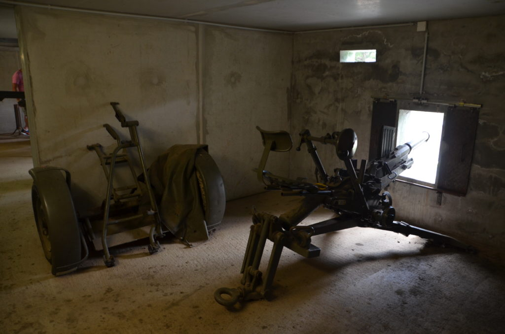 To show a Anti-tank gun at the Bunkermuseum