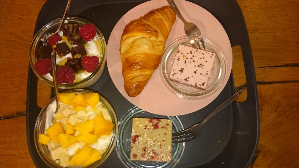 To show the breakfast at New Year's Day