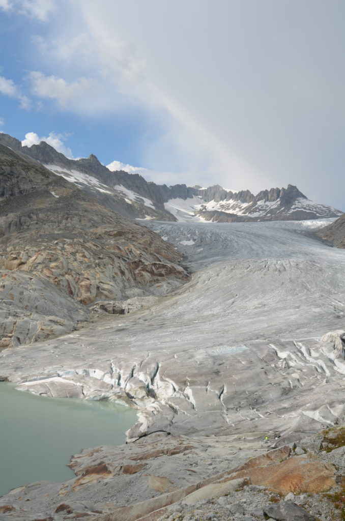 To show the Rhone glacier. 4 days in Switzerland
