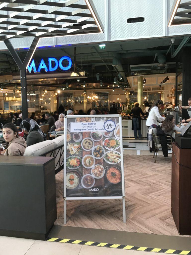 To show Mado. Eat in Utrecht