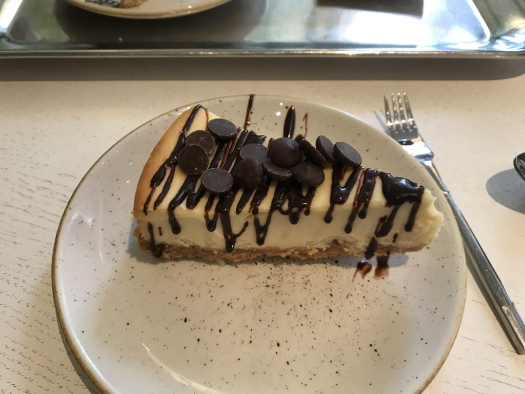To show the New York cheesecake at Mockamore