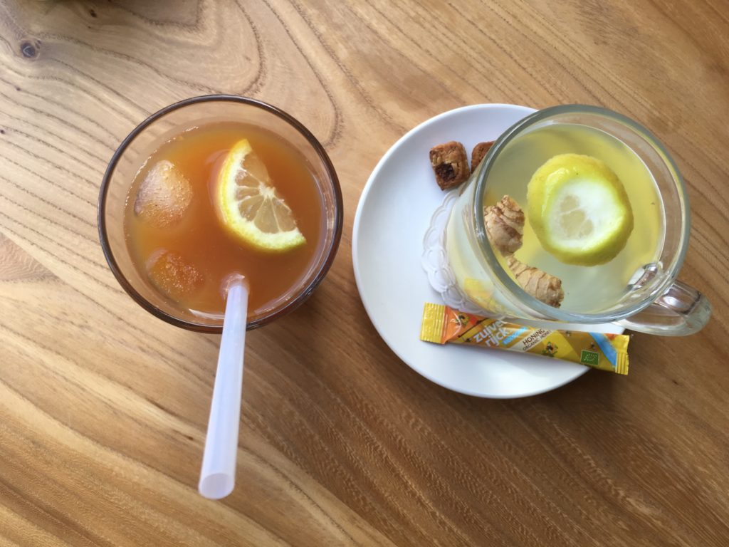To show the homemade drinks at KEEK