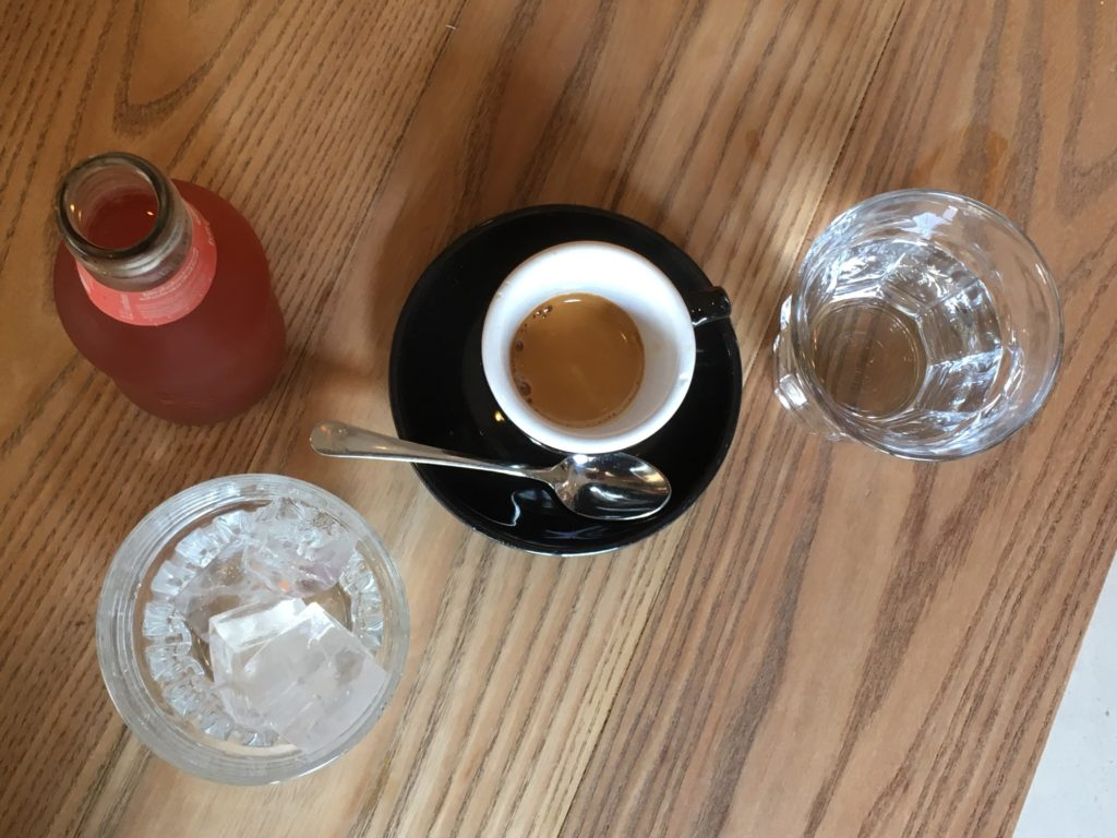To show the organic drinks at BROEI.