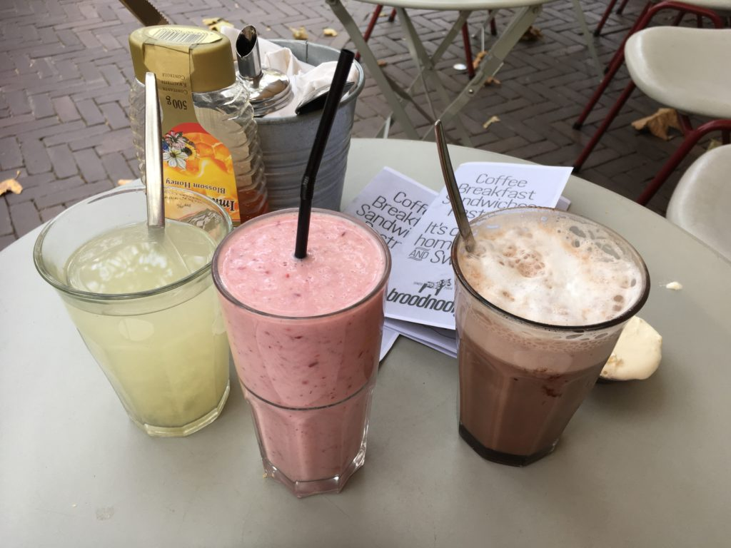 To show the Delicious drinks at Broodnodig. Eat in Utrecht