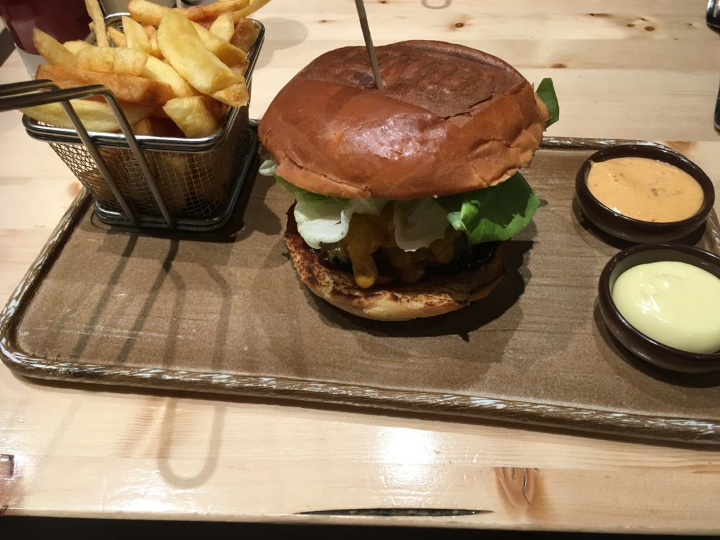 To show one of the burgers of The Burger Federation