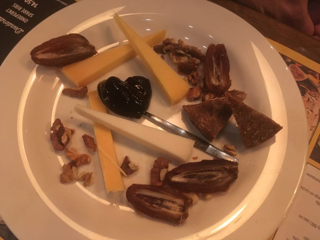 To show the cheese plate from De Beren