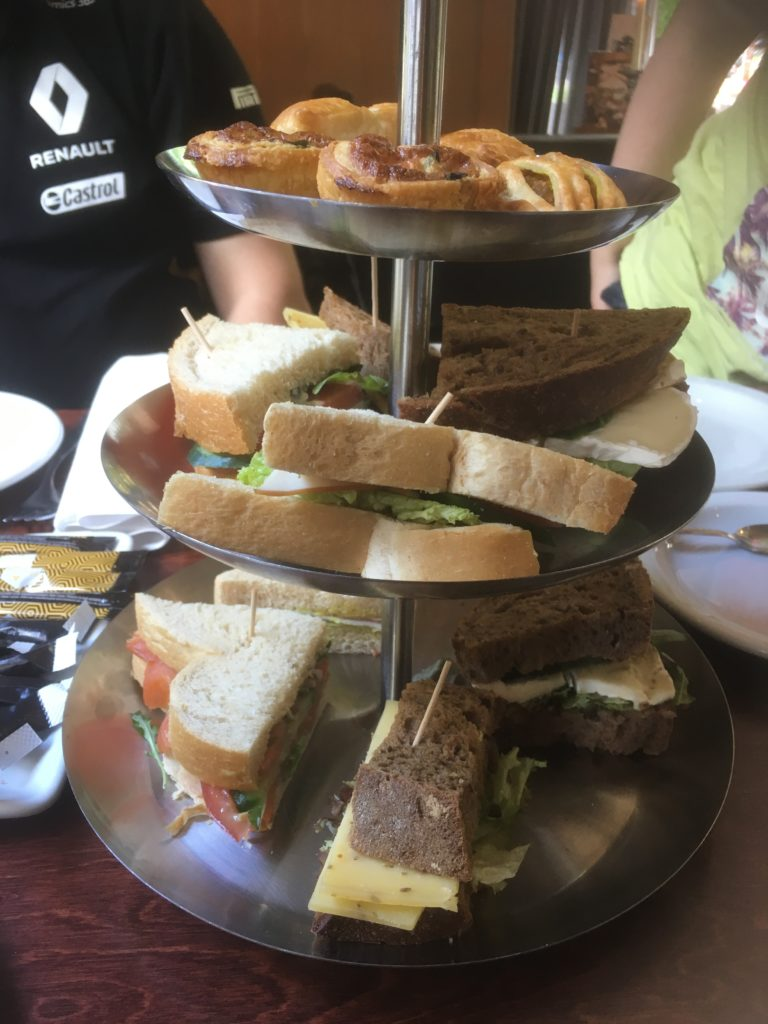 to show the Savory tray from the high tea at Het Oude Tolhuys. Eat in Utrecht