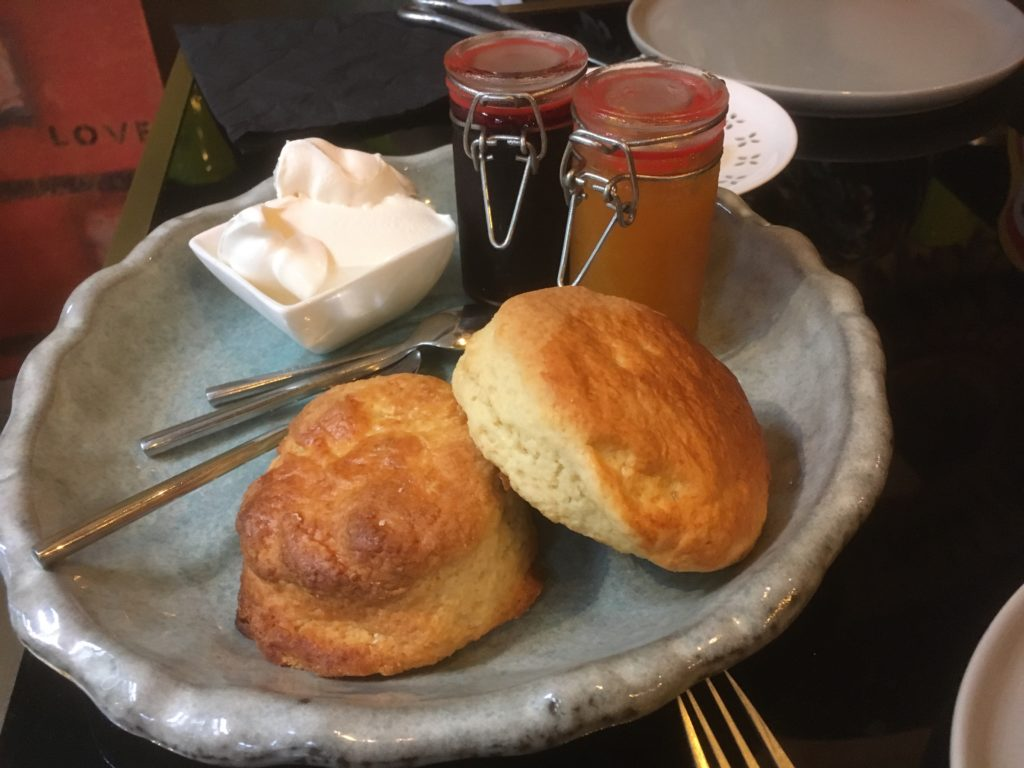 Third course: Scones