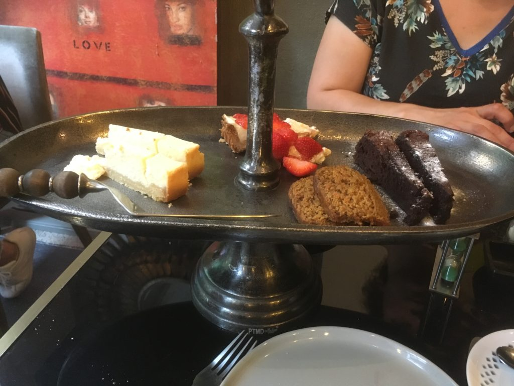 To show the Last course: Sweet bites