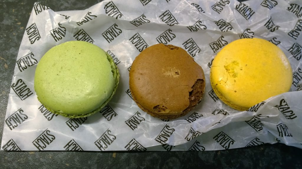 To show the giant macarons from Stach. Eat in Utrecht