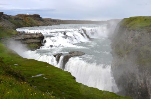Gulfoss. Finding peace