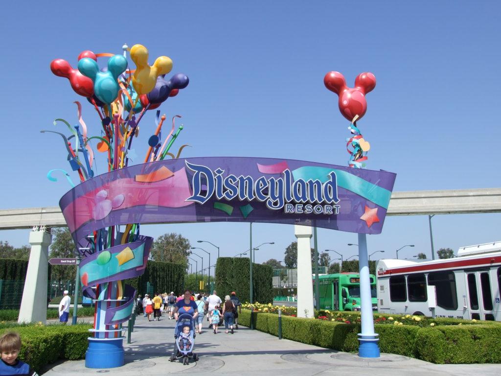 At Disneyland Anaheim