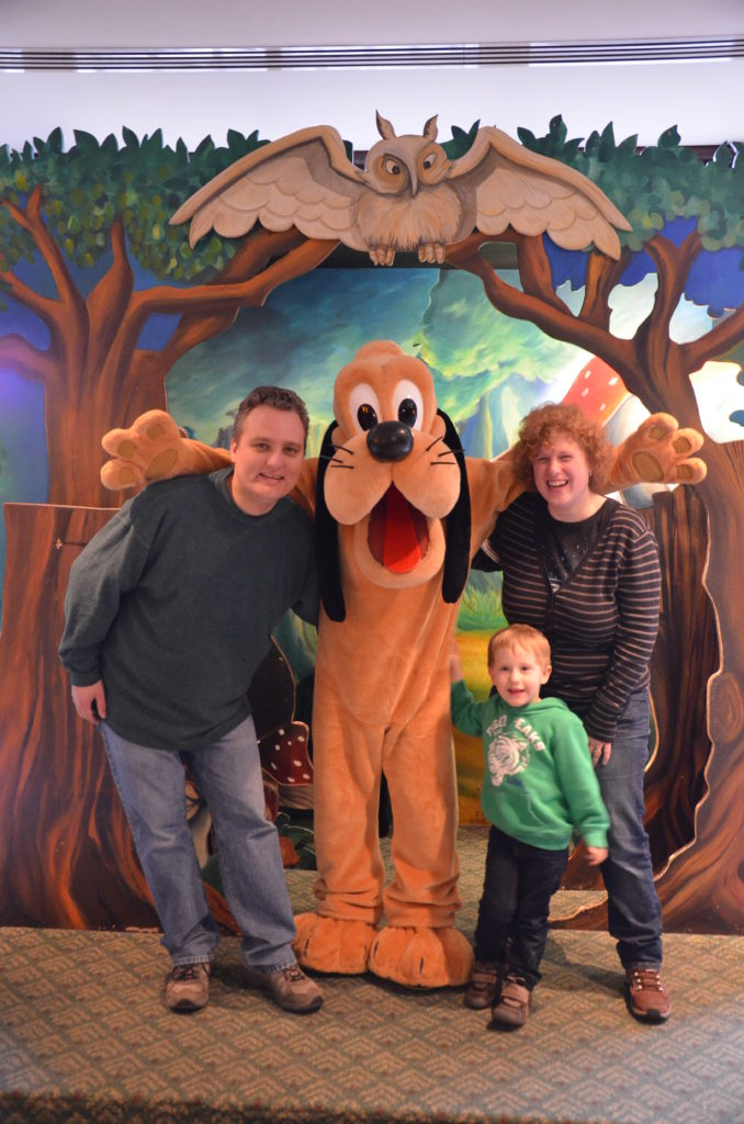 Pluto and us