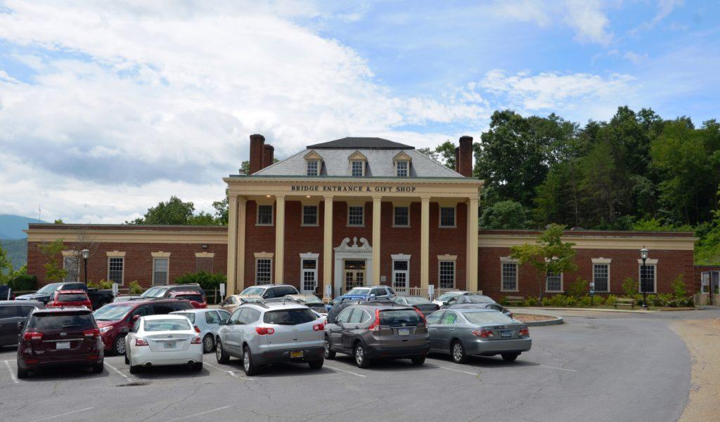 The Visitor Center at Natural Bridge.