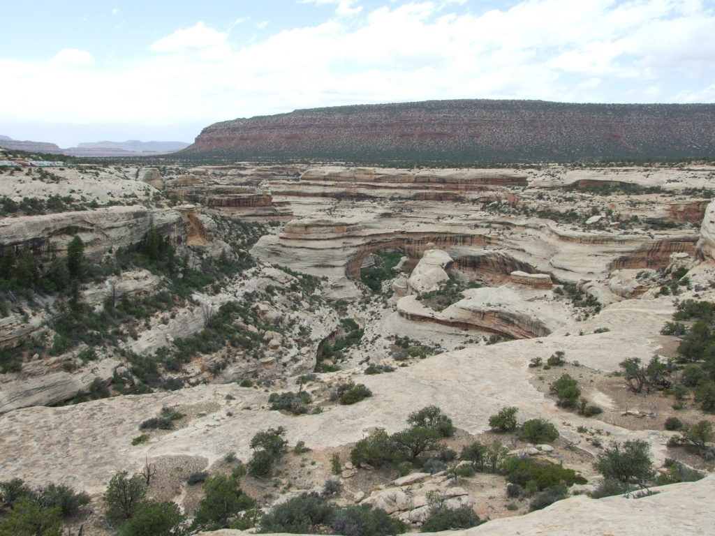 Sipapu Bridge, the largest of the 3 bridges at Natural Bridges National Monument