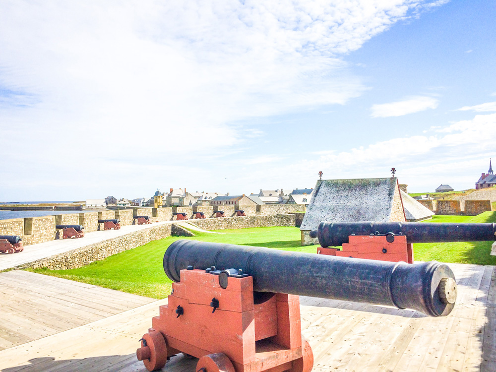 Fortress of Louisbourg by Jenn