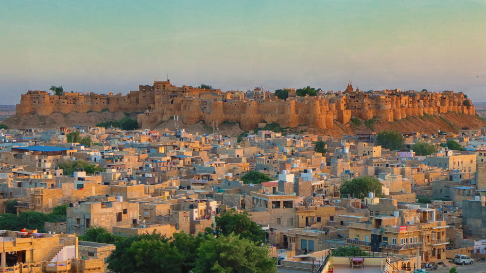 Jaisalmer fort by Subhadeep