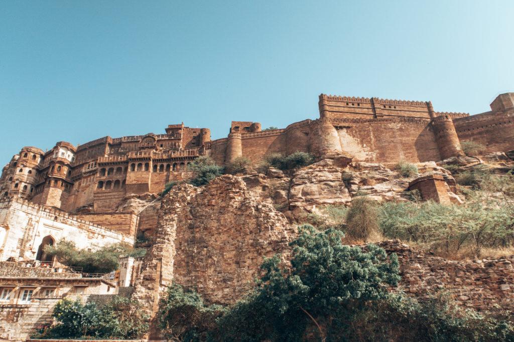 Mehrangar fort by Bradley