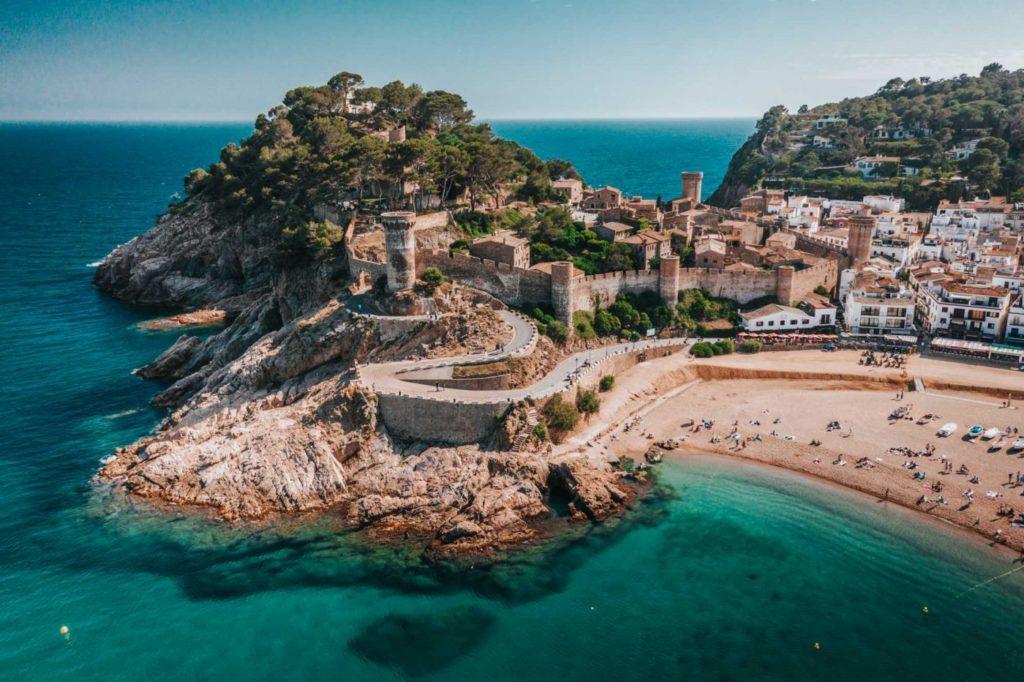 Tossa del Mar fortress by Oksana & Max