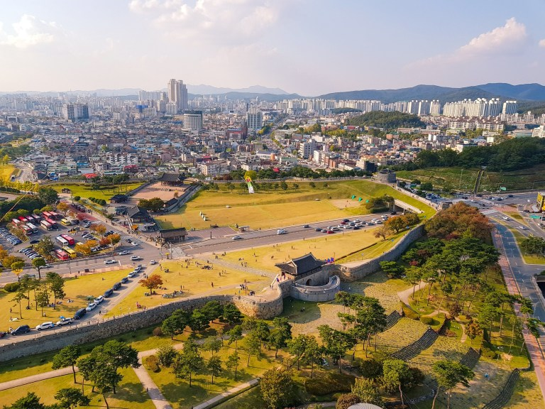 Hwaseong Fortress by Marie
