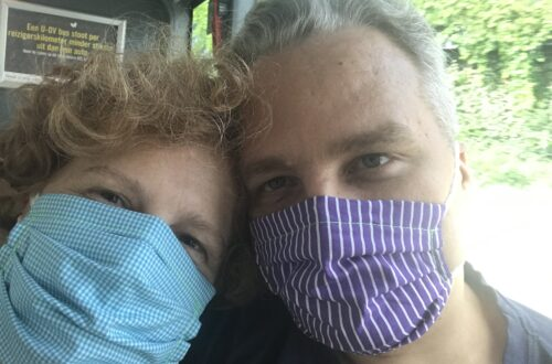 With face masks in the bus, reality while traveling in 2020