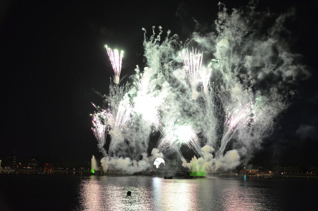 Fireworkshow at Epcot