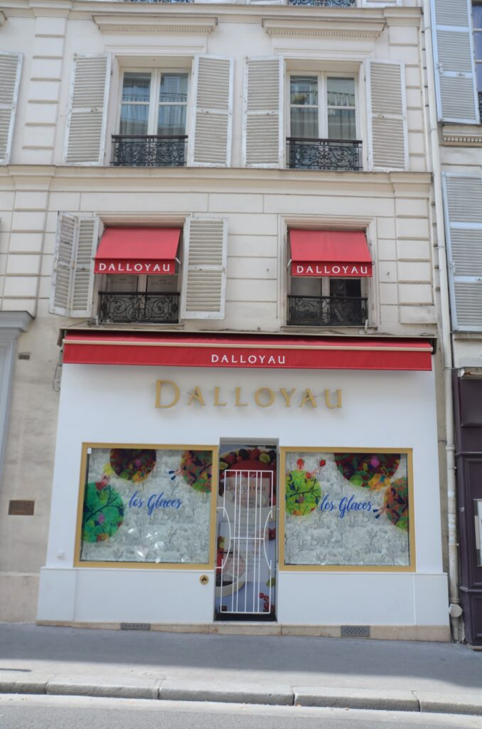 Dalloyau shop from the outside