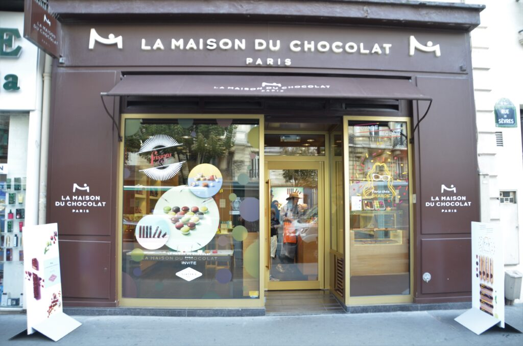La Maison du Chocolat from the front