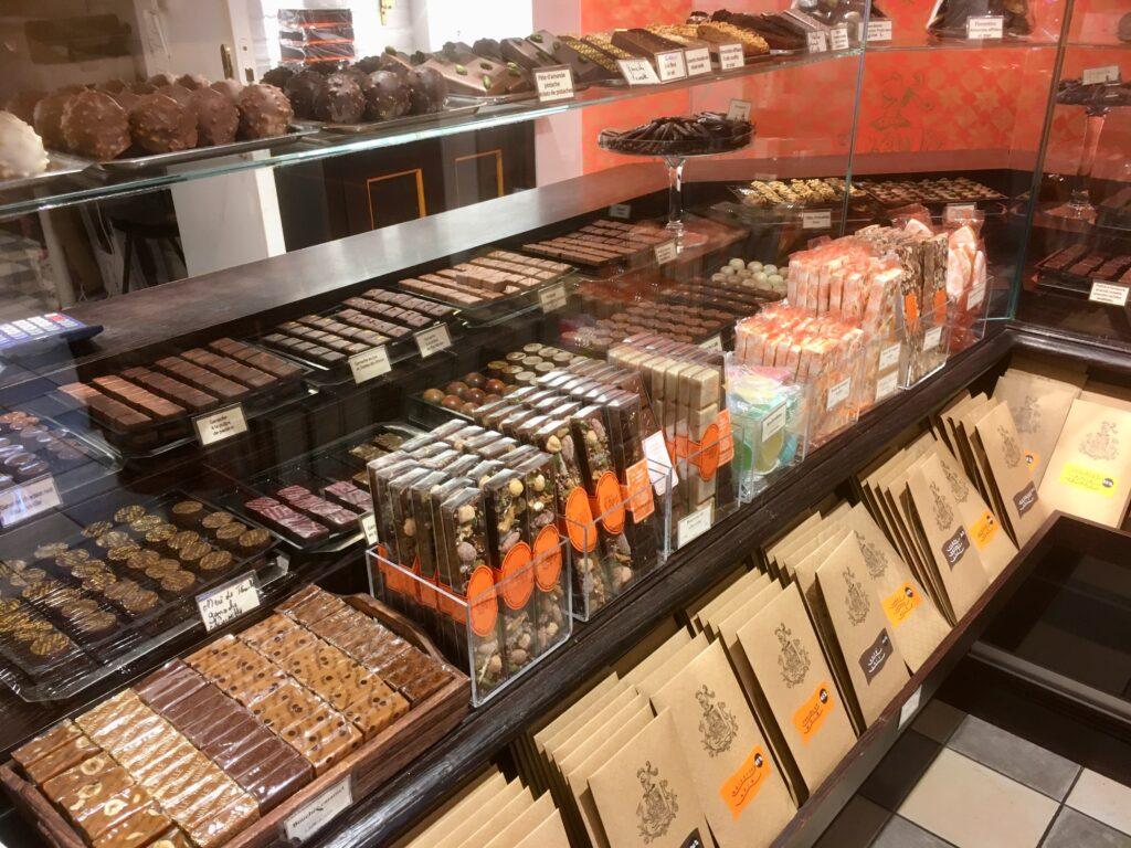 Chocolates at A la Mere de Famille