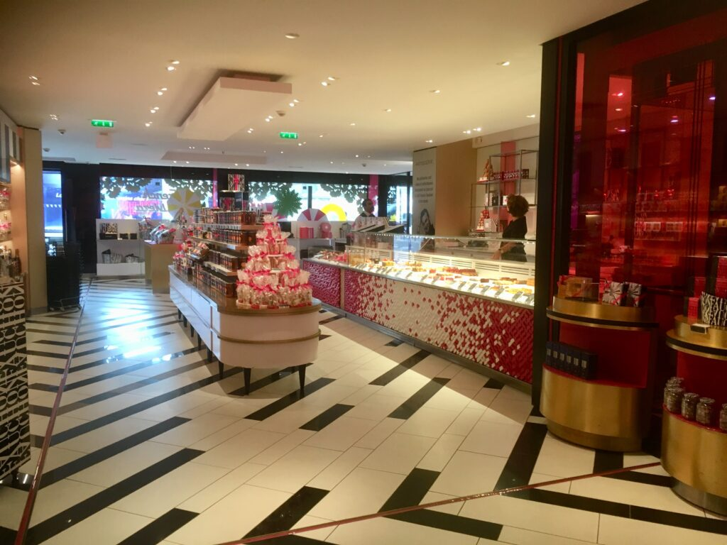 The large Fauchon store