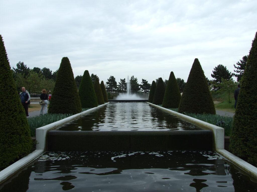 One of the gardens at Keukenhof