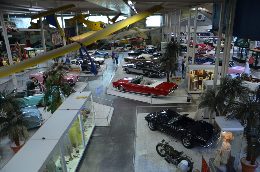 Overview of part of the cars