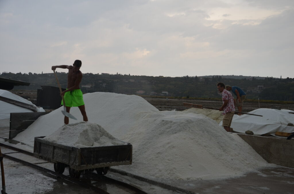 Working hard at the Saltworks