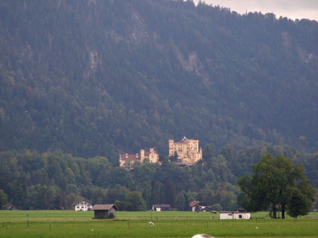 Hohenschwangau as seen from afar