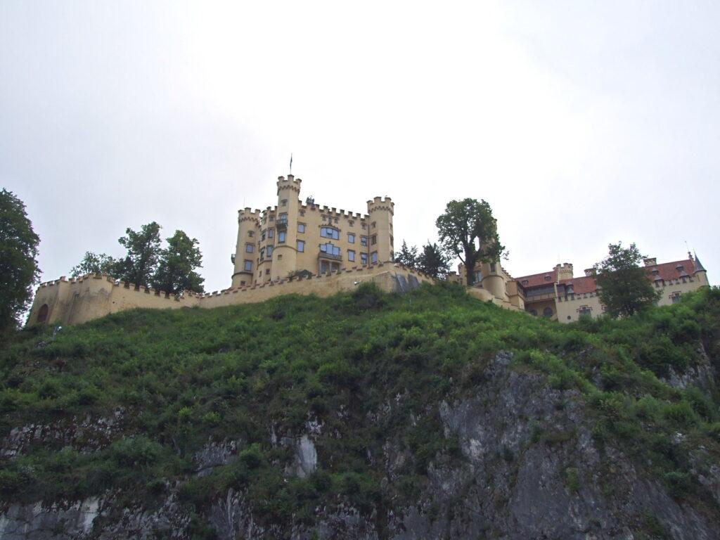 The castle as seen from below