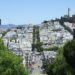 San Francisco as seen from Lombard Street on a California road trip