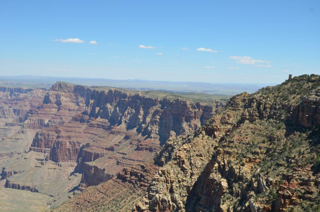 Grand Canyon, driving from Orlando to San Francisco