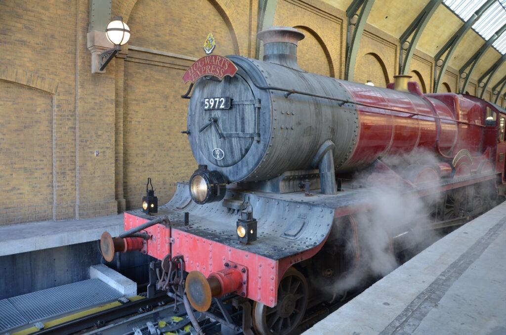 The Hogwarts train at Universal Orlando