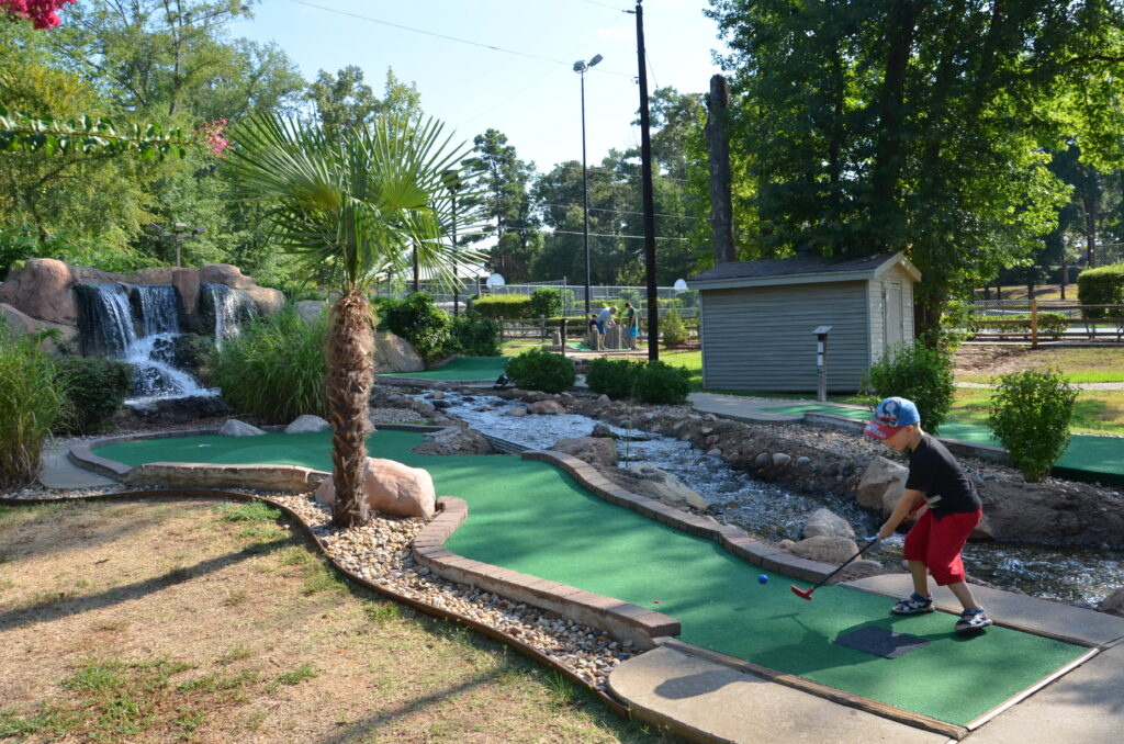 Mini golf at The Villages Resort